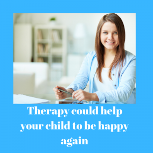 happy child therapy