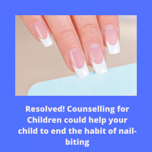 therapy for nail biting