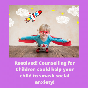 social anxiety child counselling